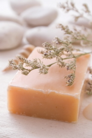 All natural homemade soap